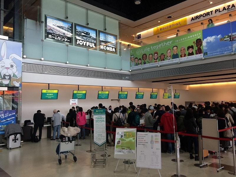 春秋空港 チェックイン