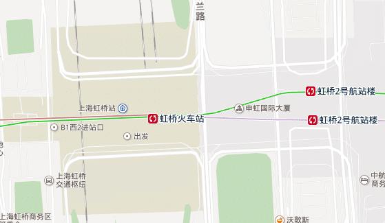 虹桥火车站站