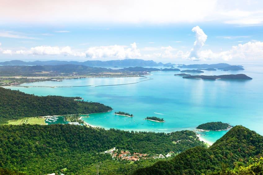 マレーシアのランカウイ島