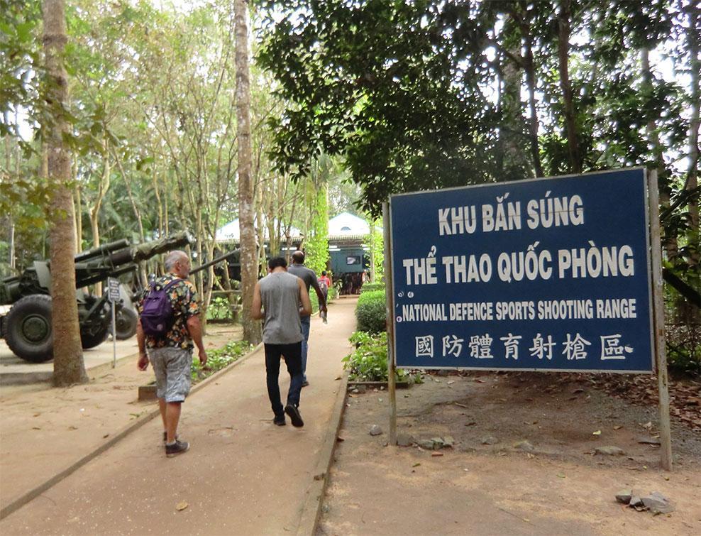 ベトナム クチ 地下トンネル