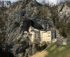 スロベニア 洞窟城 プレッドヤマ城