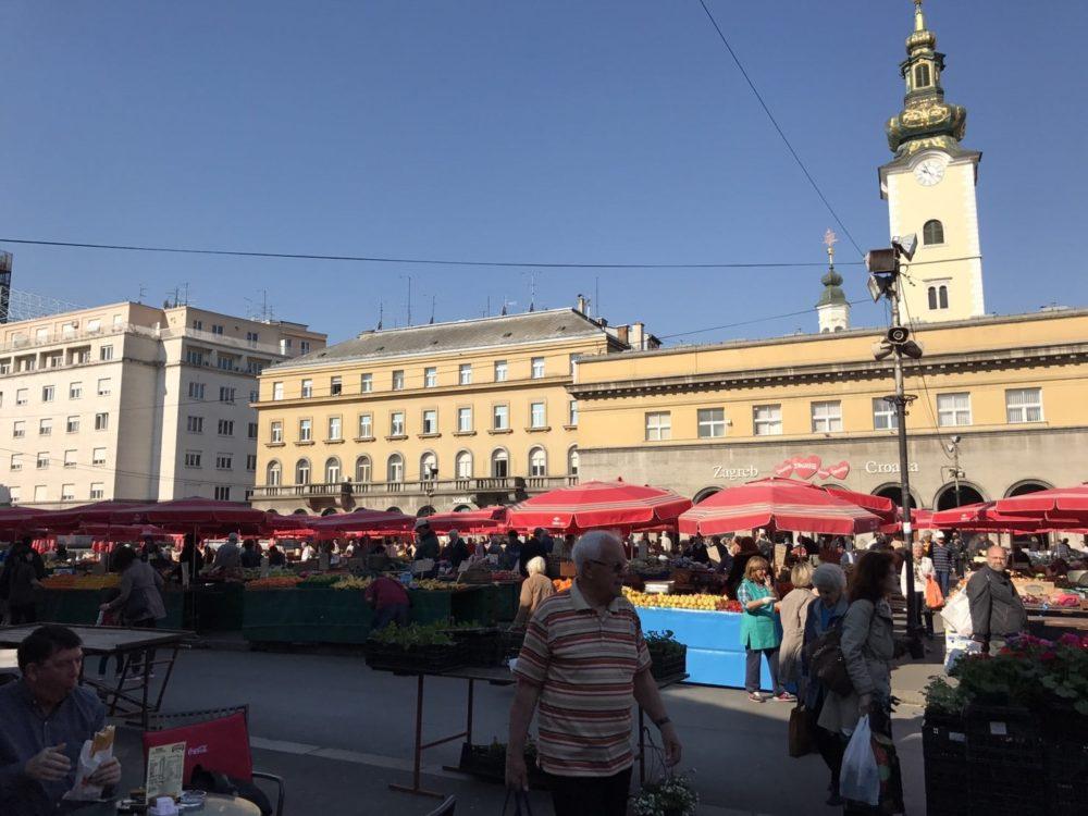 クロアチア 首都ザグレブ 観光