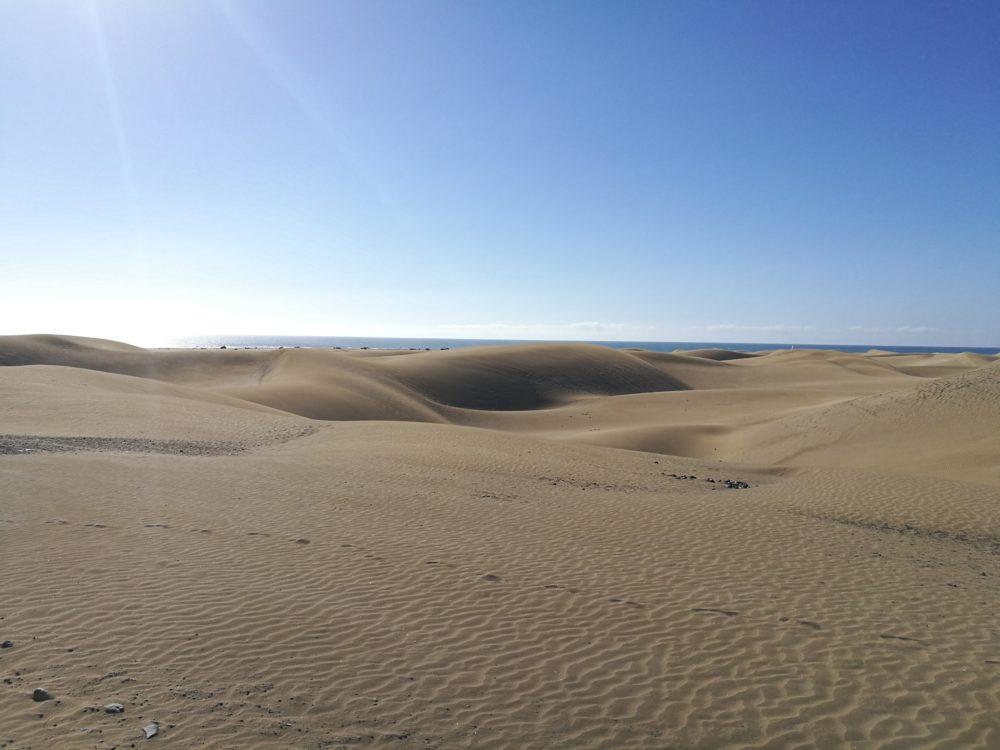 カナリア諸島 グランカナリア島 砂丘