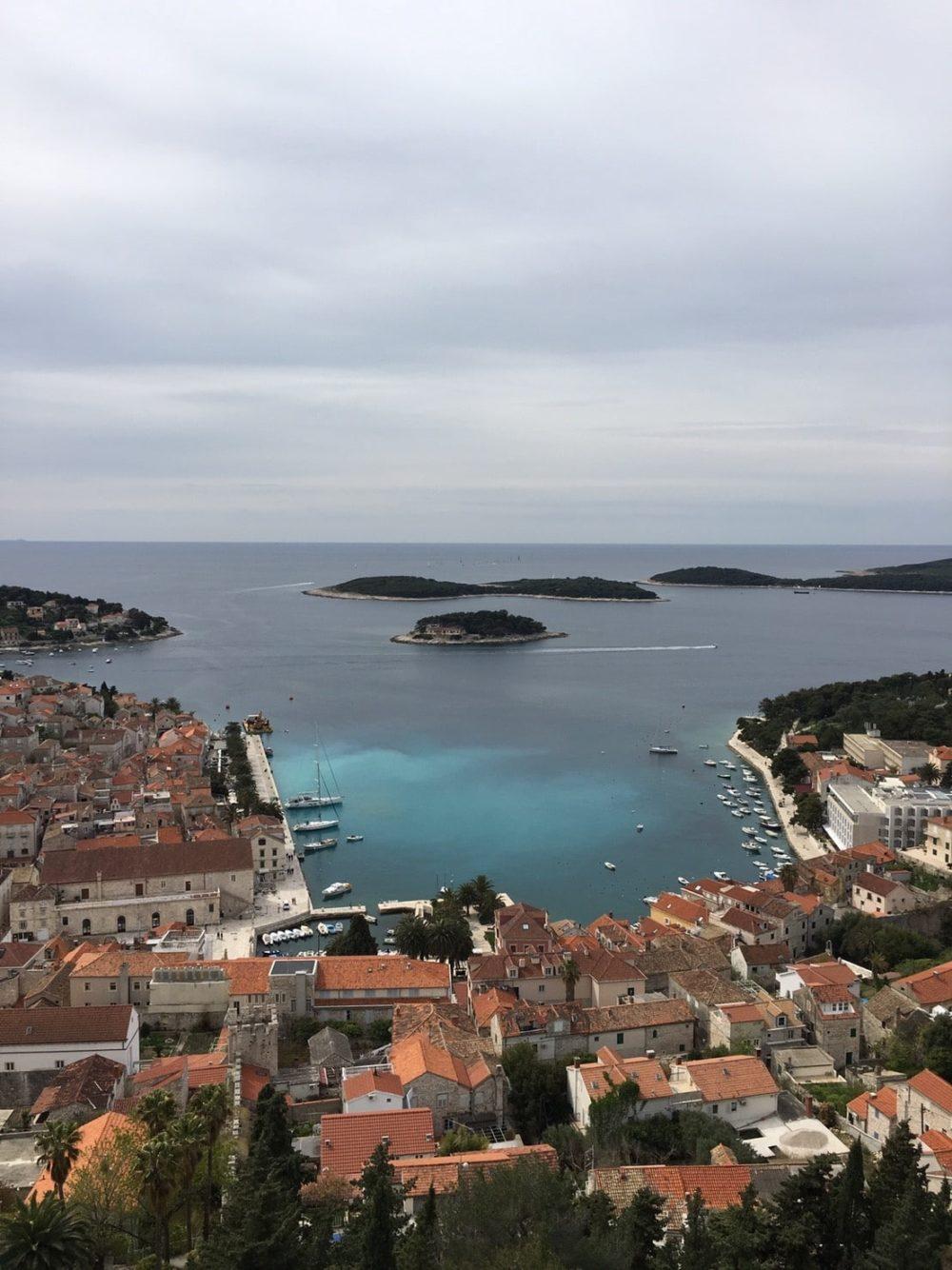 クロアチア フヴァール島 城塞