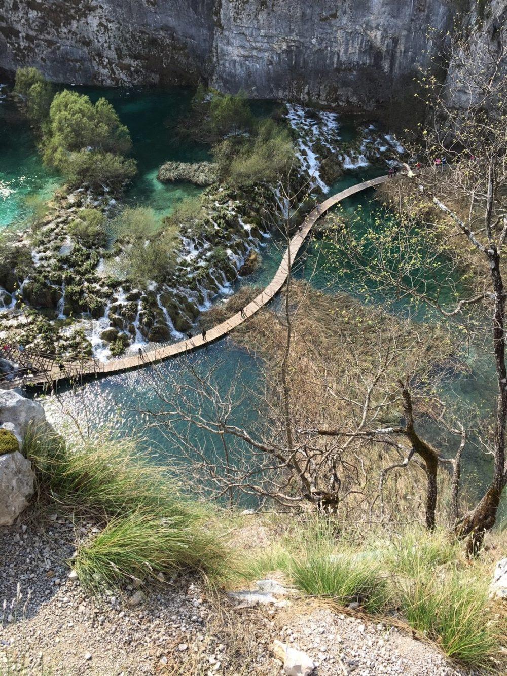 クロアチア プリトヴィッツェ湖群国立公園 観光
