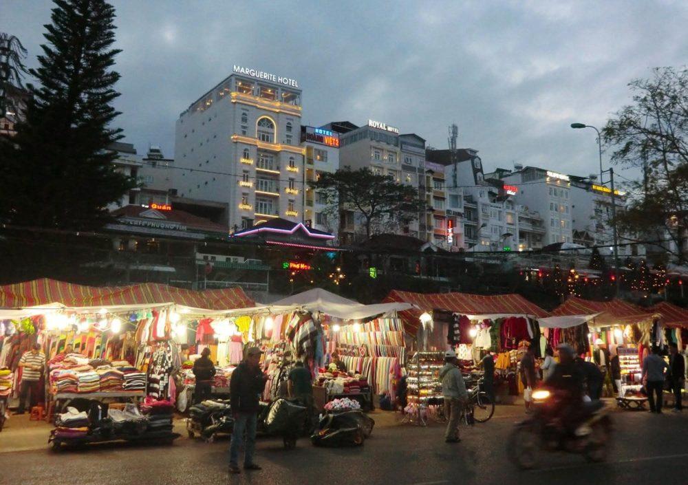 ベトナム ダラット ダラット市場