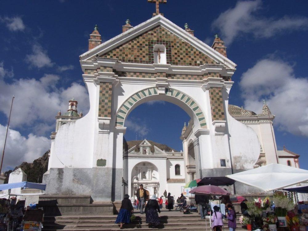 ボリビア 国境 コパカバーナ