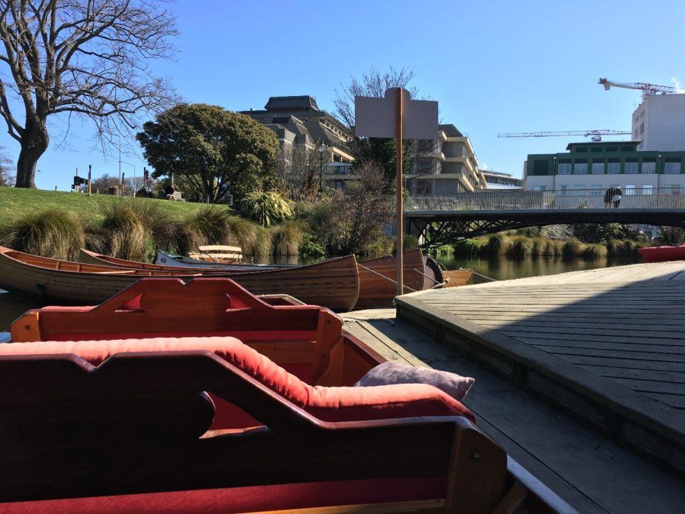 ニュージーランド クライストチャーチ  エイボン川