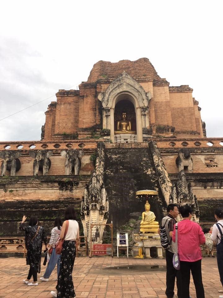 タイ チェンマイ ワット・チェーディー・ルアン