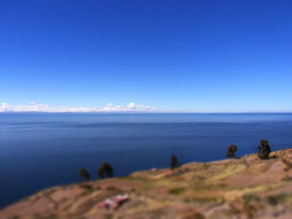 ペルー チチカカ湖 タキーレ島