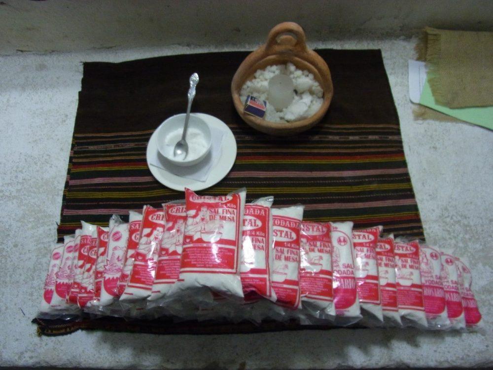ウユニ塩湖 お土産 塩