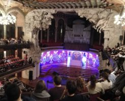 ルセロナ カタルーニャ音楽堂 フラメンコ