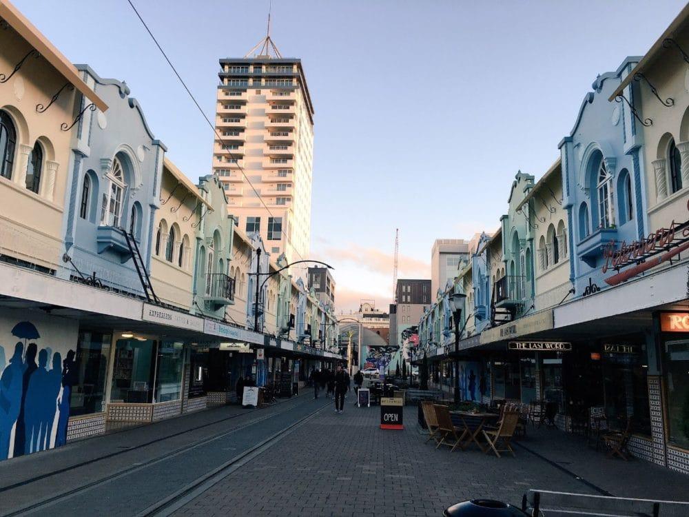 ニュージーランド クライストチャーチ  街