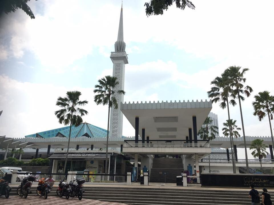 クアラルンプール 国立モスク マスジッド・ヌガラ