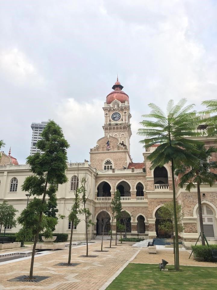クアラルンプール スルタン・アブドゥル・サマド・ビル 旧連邦事務局ビル