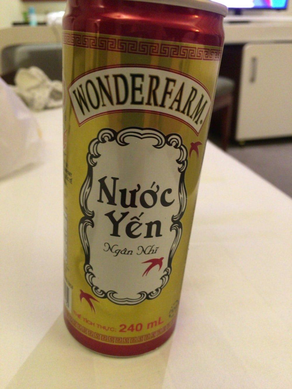 ベトナム料理 燕の巣 ジュース
