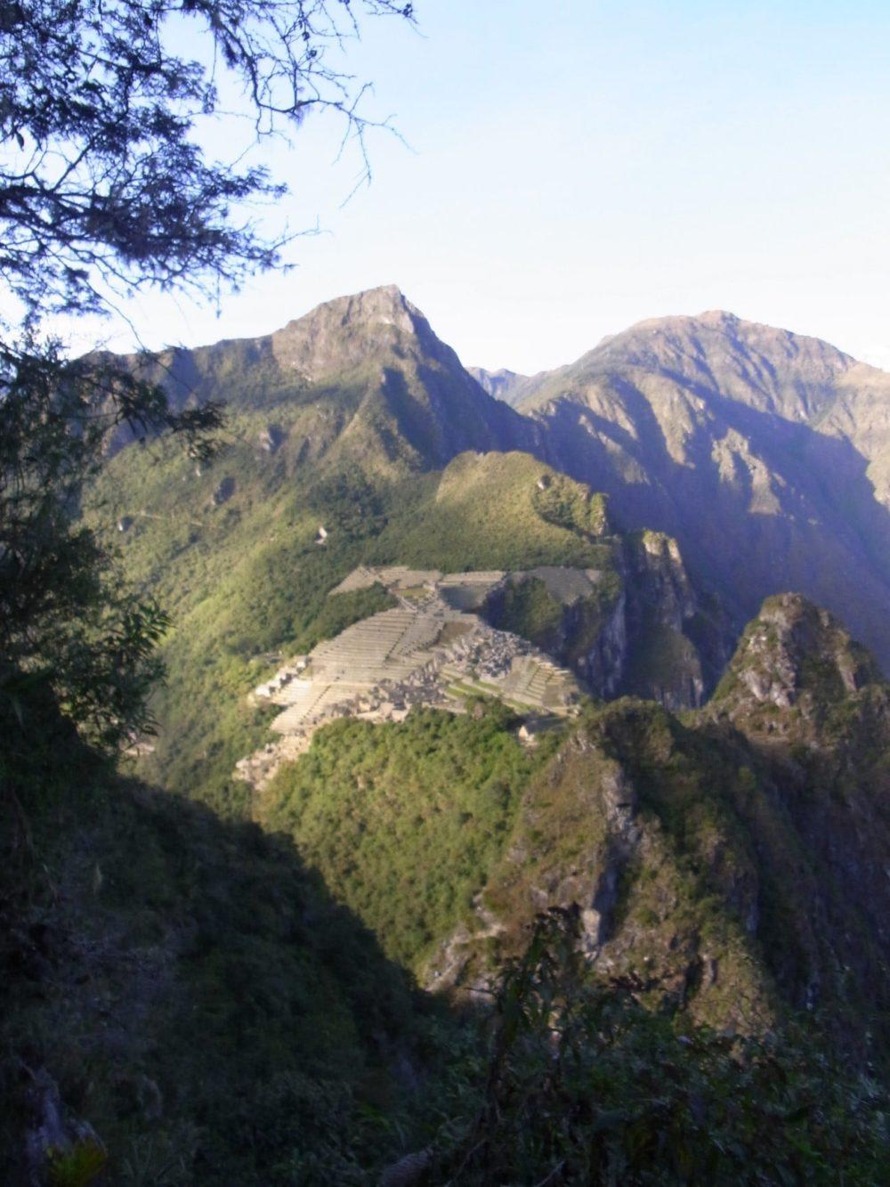 ペルー マチュピチュ ワイナピチュ登山