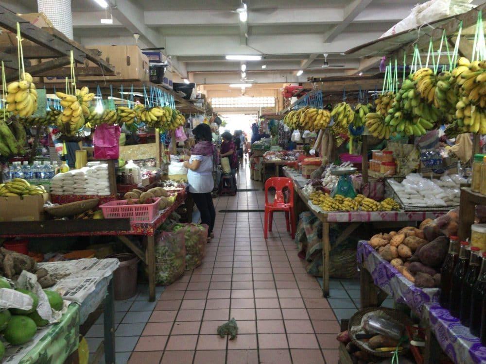 マレーシア コタキナバル ハンディクラフトマーケット