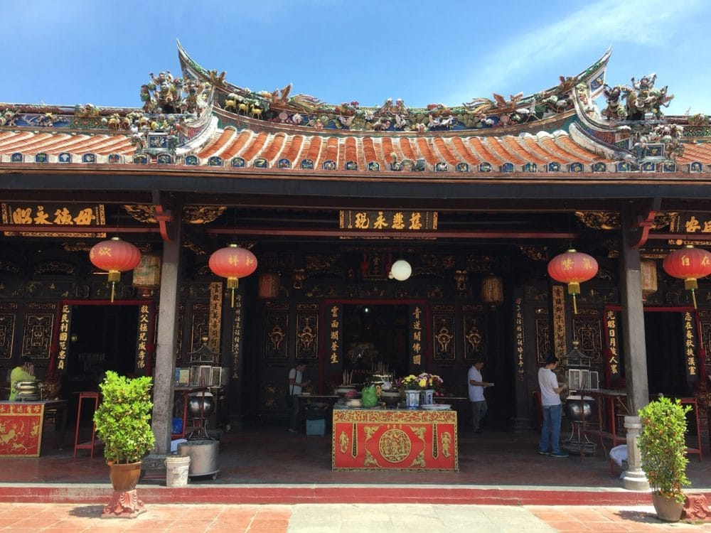 マレーシア マラッカ チェンフンテン寺院