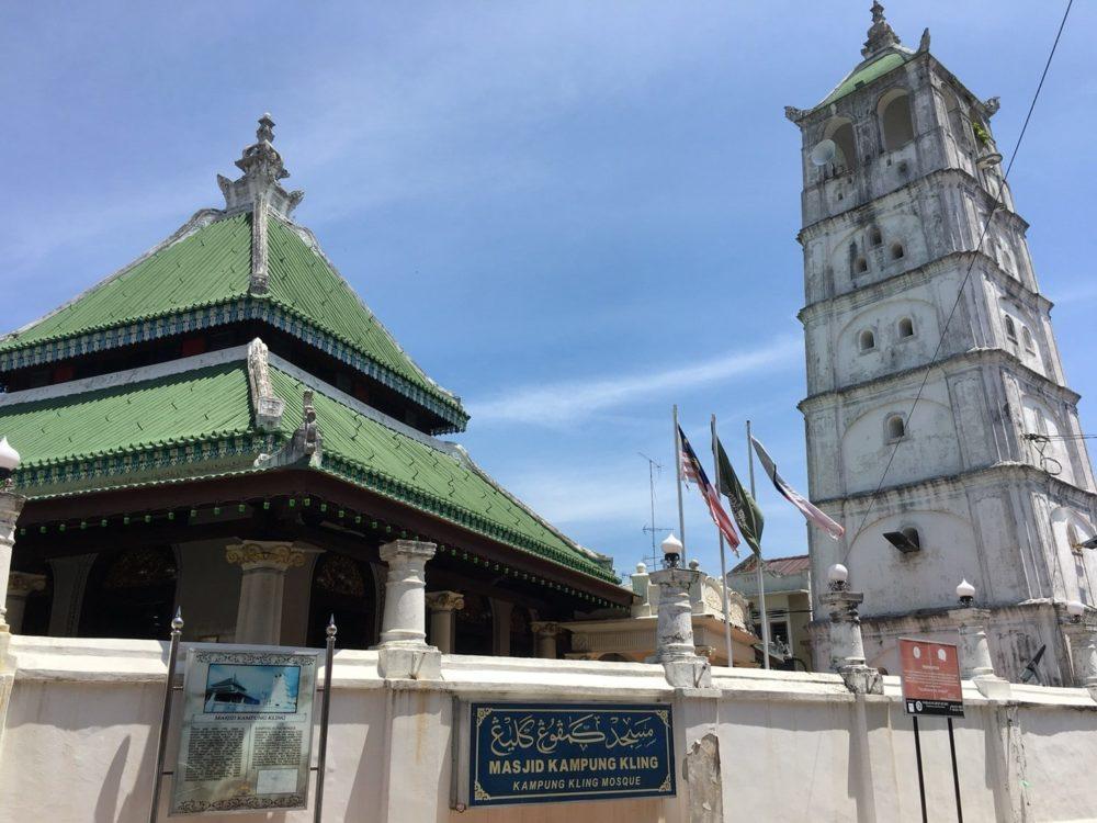 マレーシア マラッカ カンポン・クリン・モスク