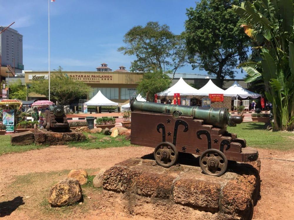 マレーシア マラッカ サンチャゴ砦