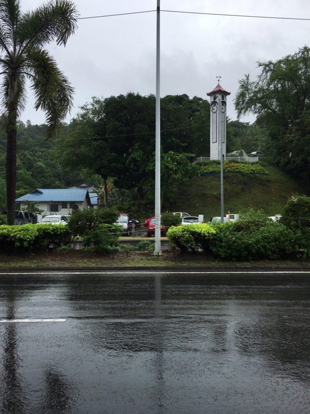 マレーシア コタキナバル アトキンソン時計塔