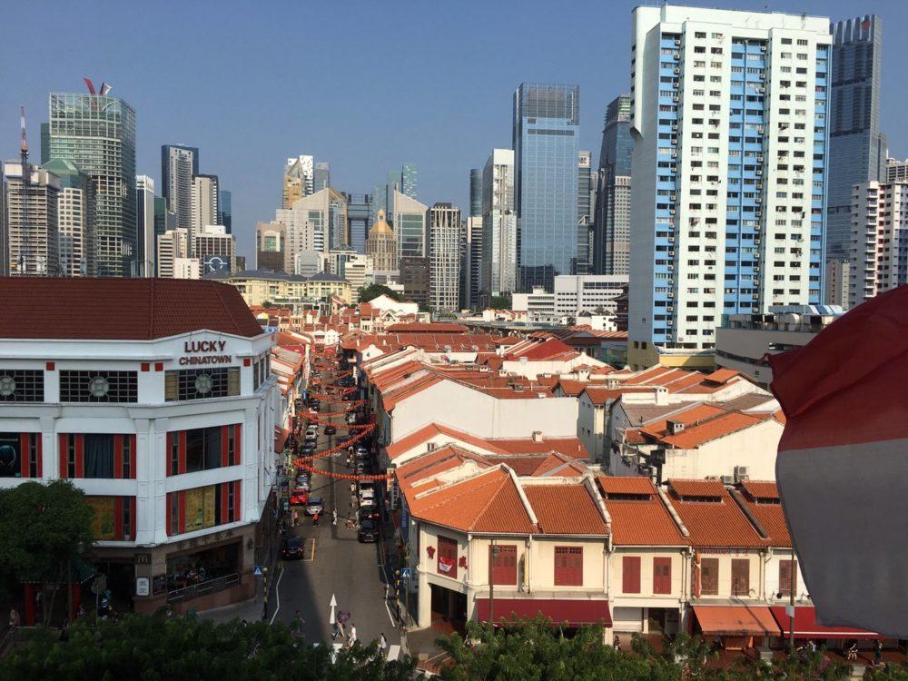 シンガポール チャイナタウン 屋台
