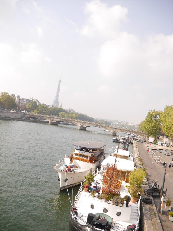 パリ セーヌ川 エッフェル塔