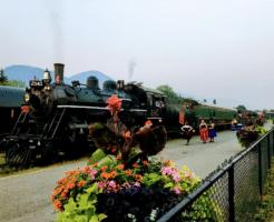 カナダ 蒸気機関車 スピリット・オブ・カムループス