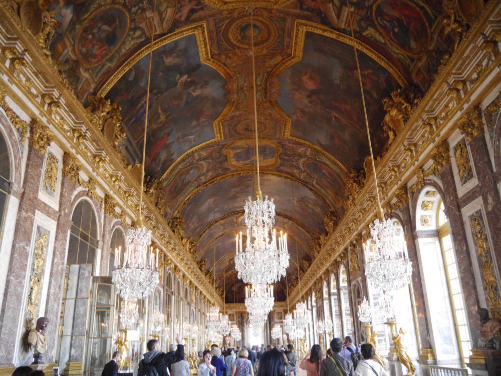 フランス ヴェルサイユ宮殿 鏡の間