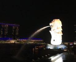 シンガポール マーライオンパーク マーライオン