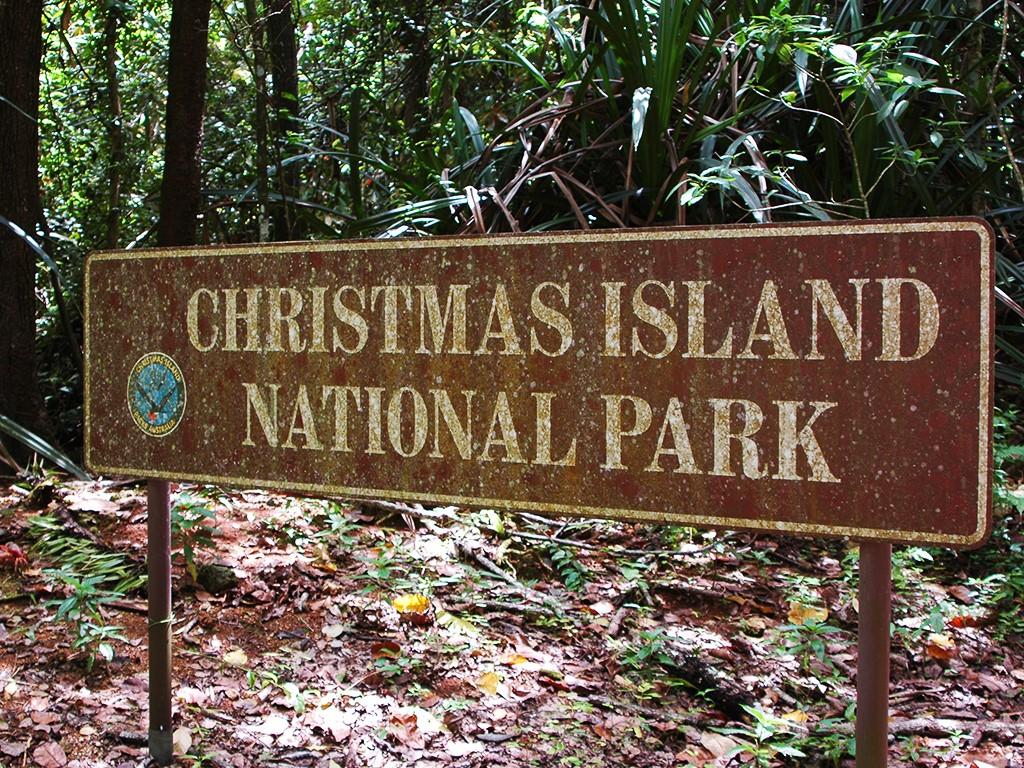オーストラリア クリスマス島 ナショナルパーク