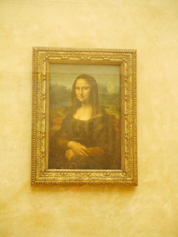 パリ ルーブル美術館 モナリザ
