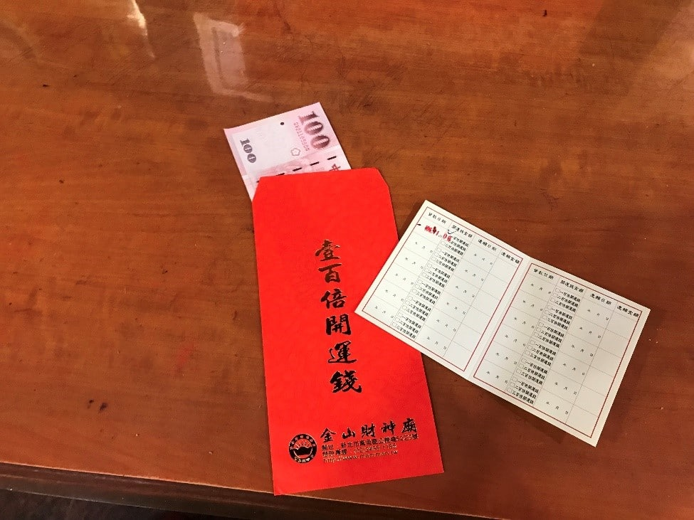台湾 台北 金山財神廟