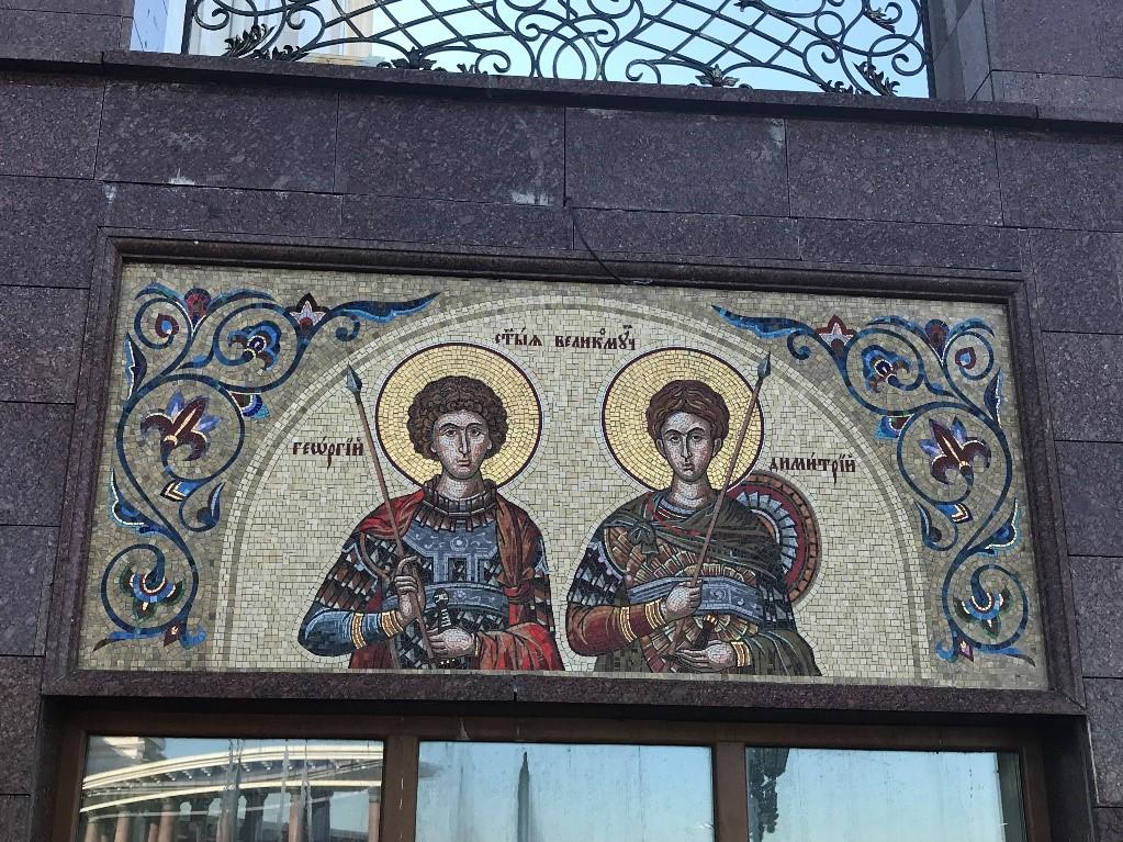 ロシア 正教会 スパゾ・オブラジェンスキー大聖堂