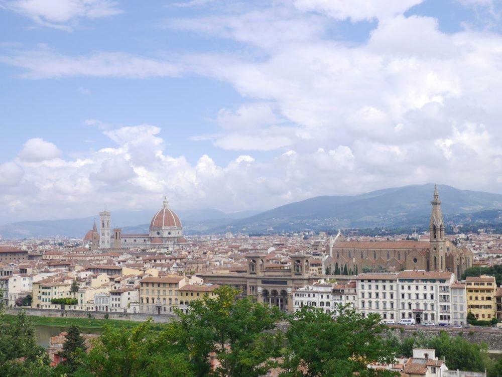 フィレンツェ ミケランジェロ広場 景色