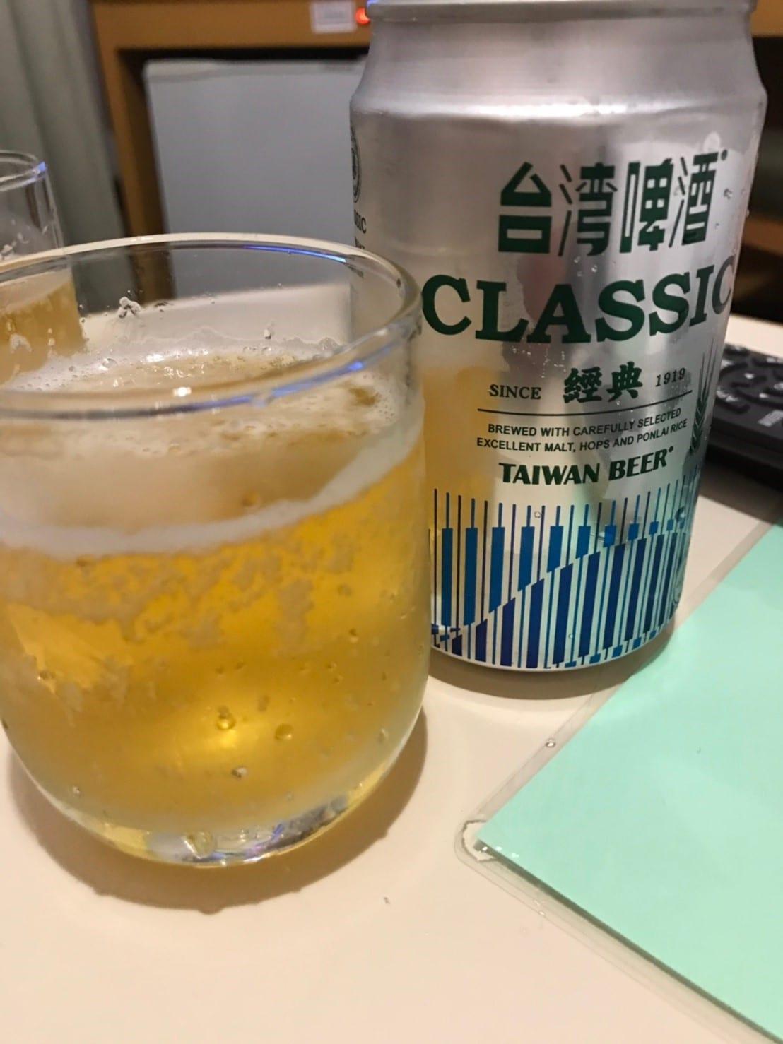 台湾 屋台 ビール