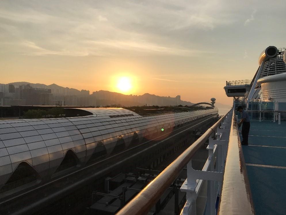 香港 啓徳 カイタック・クルーズターミナル