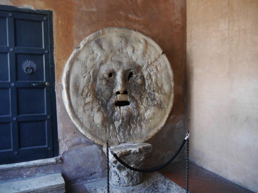 イタリア ローマ 真実の口
