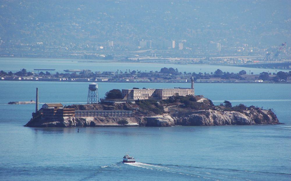 サンフランシスコ ゴールデンゲートブリッジ アルカトラズ島