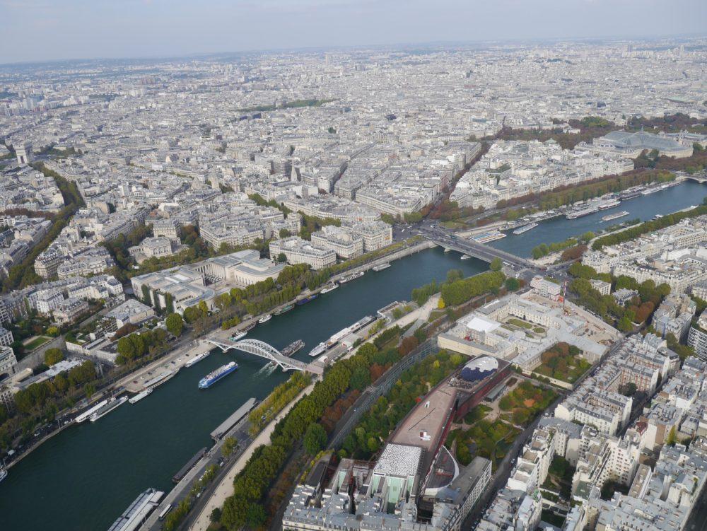 パリ エッフェル塔 展望台