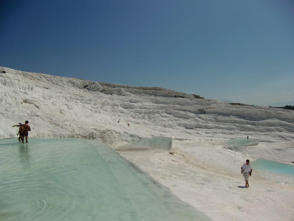 トルコ 温泉 パムッカレ