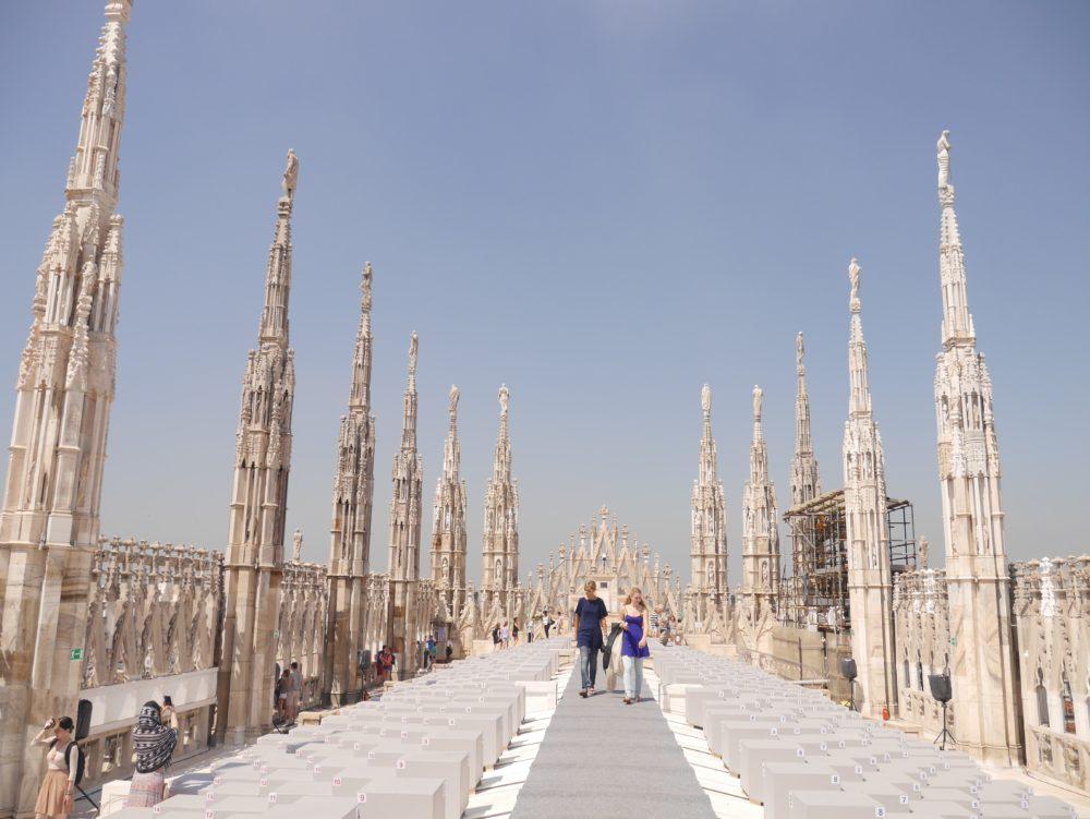 ミラノ ゴシック建築 ドゥオモ