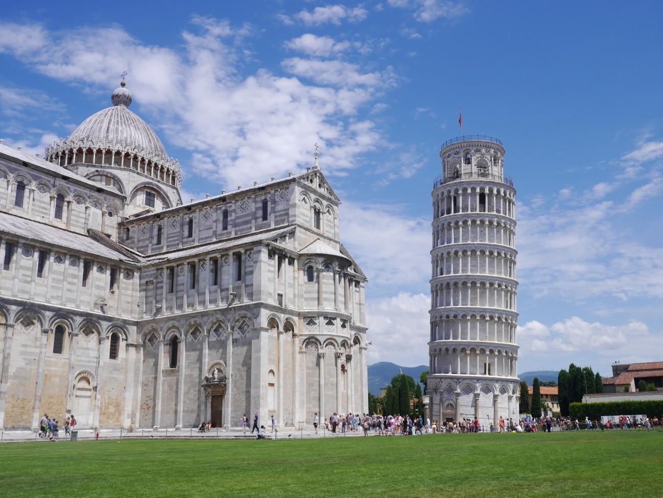 イタリア 観光 ピサの斜塔