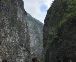 台湾 花蓮 太魯閣渓谷