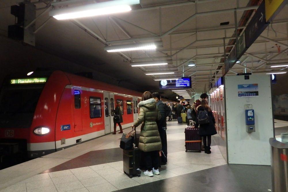 ミュンヘン 電車 Sバーン