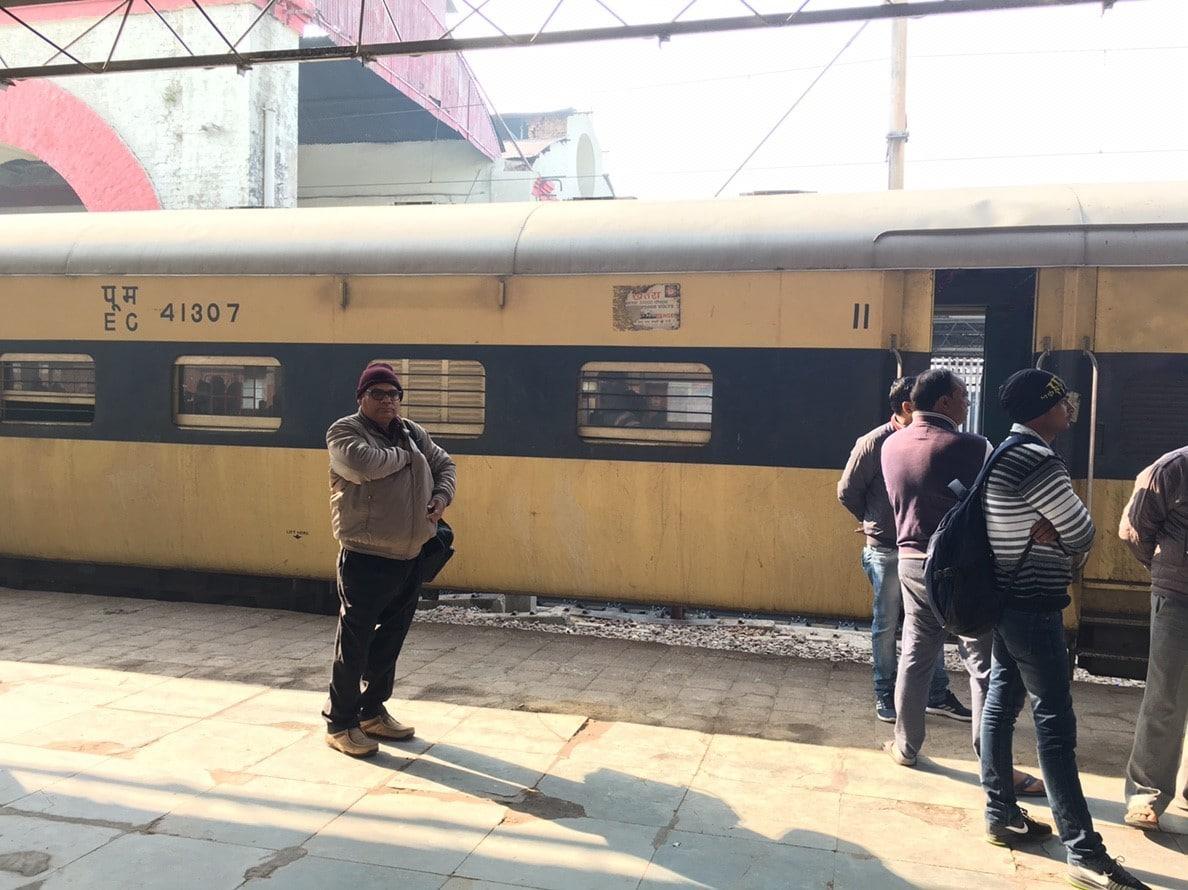 インド 旅行 列車