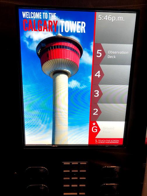 カナダ 観光 カルガリータワー