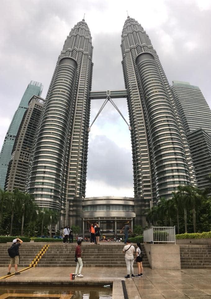 マレーシア 旅行 ペトロナス・ツインタワー