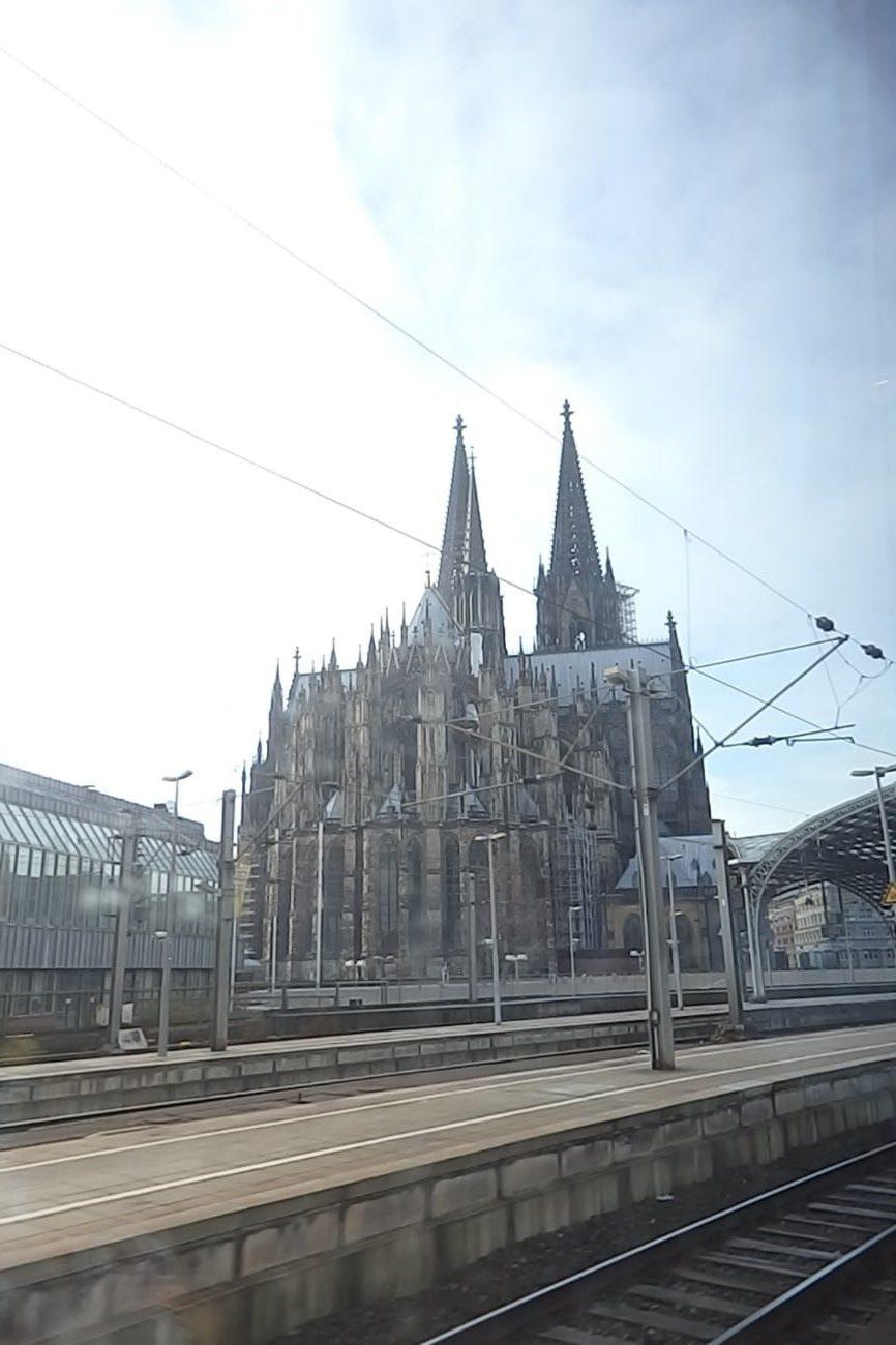 イツ ケルン中央駅 ケルン大聖堂